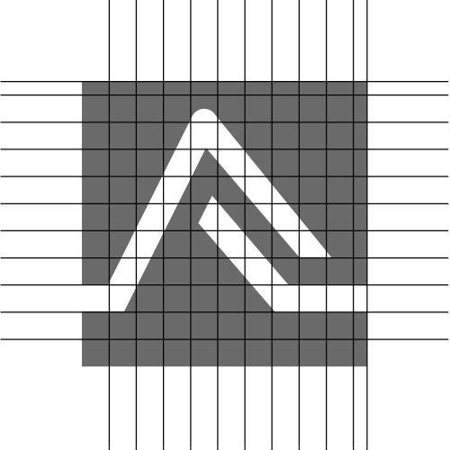 Budowa sygnetu Interfact | branding | identyfikacja wizualna