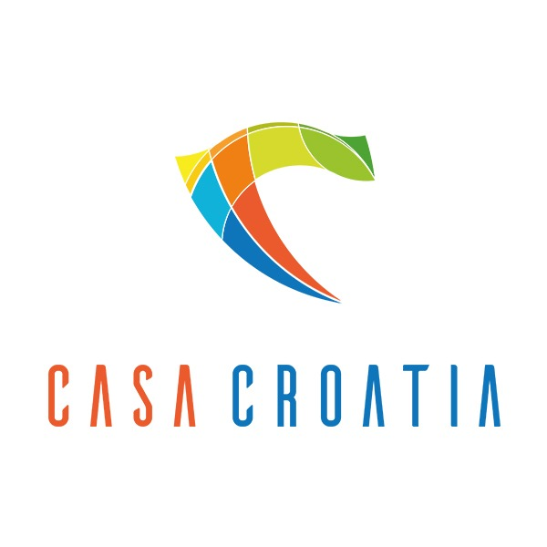 Projekt logo CasaCroatia | branding | identyfikacja wizualna