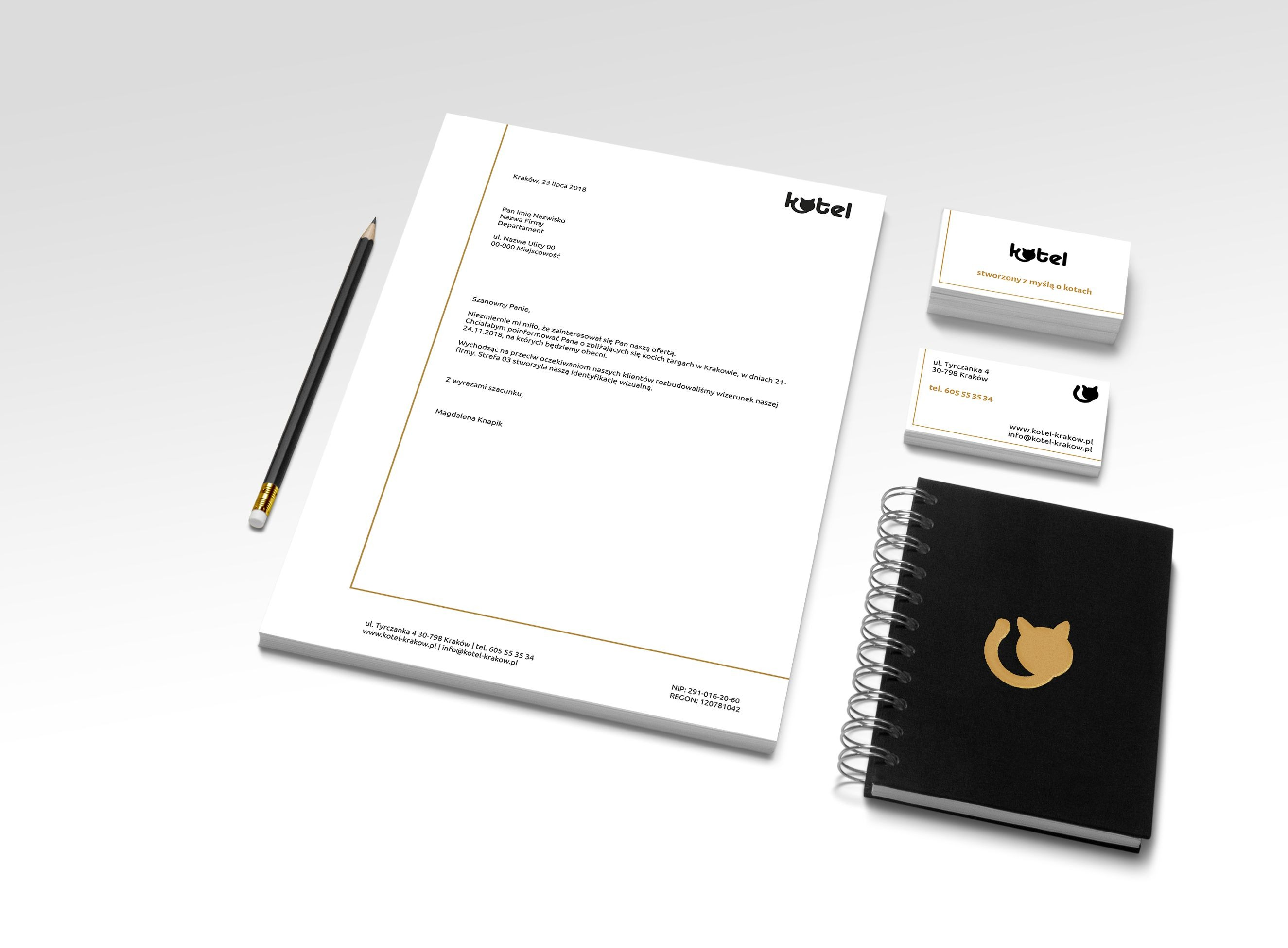 Identyfikacja wizualna dla Kotel | branding | identyfikacja wizualna