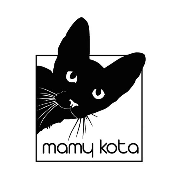 projekt logo dla Mamy Kota | branding | identyfikacja wizualna