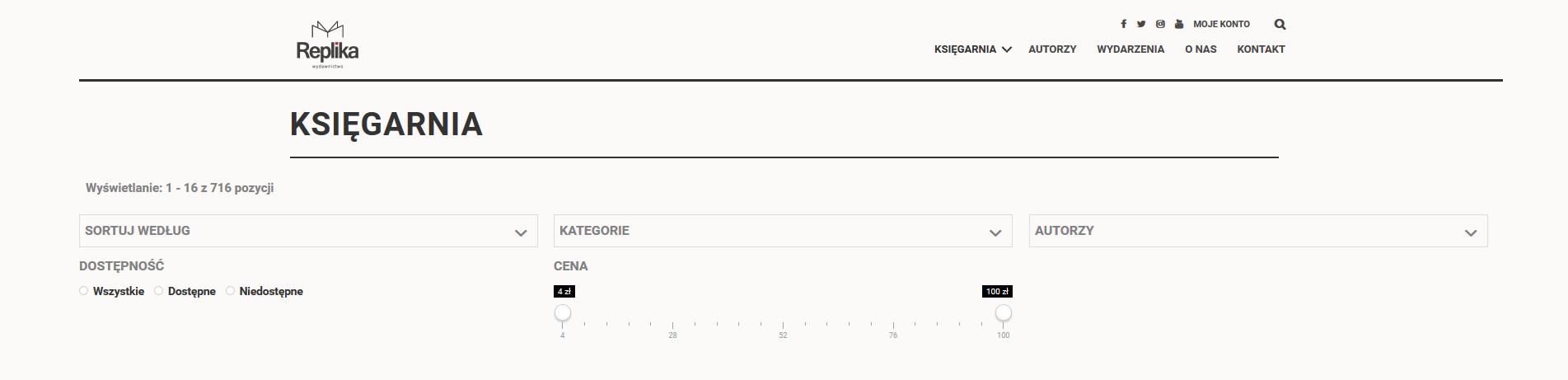 projekt wyszukiwarki internetowej | UX UI Design