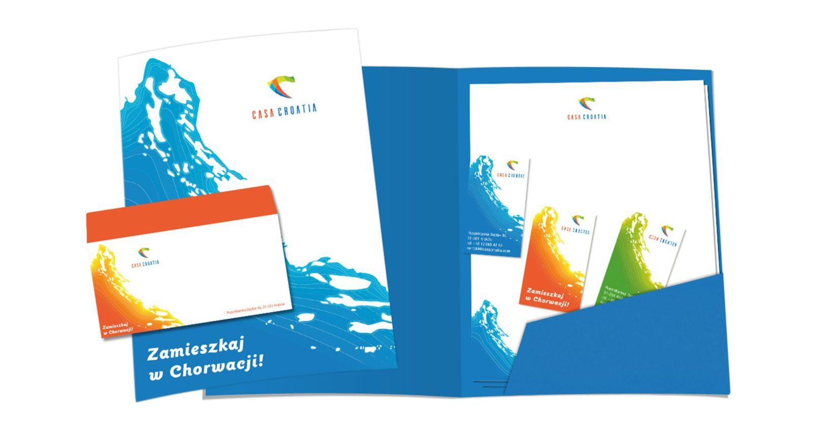 Projekt bradingu dla Casa Croatia | branding | identyfikacja wizualna
