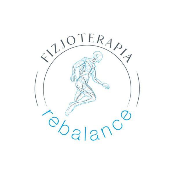 Projekt logo Rebalance | branding | identyfikacja wizualna